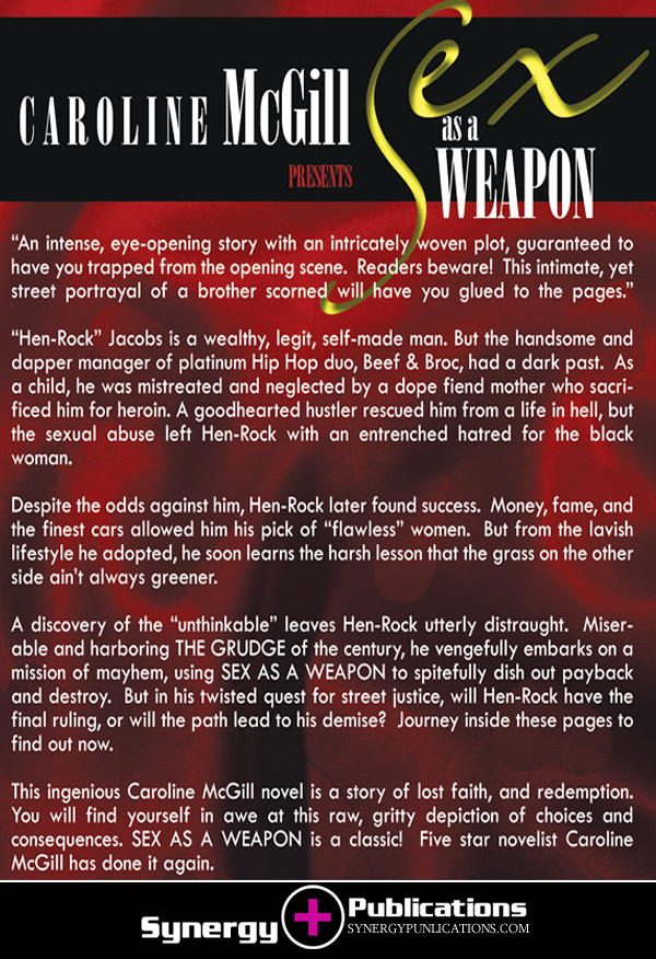 Synergy Publications | Sex As A Weapon [The Grudge] : By Caroline McGill